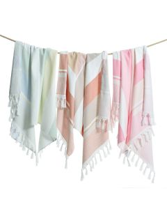 Summer Loving Pestemal Beach Towel